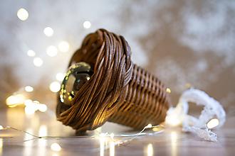 Dekorácie - Hnedý zvončel - 11396470_