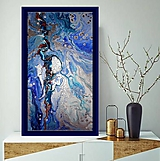 Obrazy - Strieborná lagúna - 11395479_