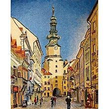 Obrazy - Michalská brána II. - 11394677_