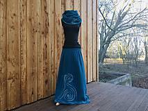 Sukne - Fleecová sukně na míru - i jiné barvy - 11396334_