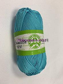 Galantéria - Priadza Camilla  (50g - Modrá) - 11396344_