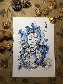 Grafika - Print z originálu ilustrácie JOHANA - 11395414_