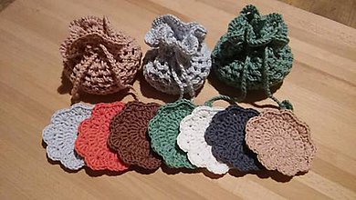 Úžitkový textil - BIO odličovacie tampóny - 11396782_