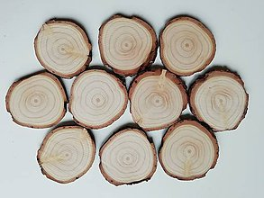 Materiál ručne robený - Drevené plátky - balenie - 11395355_