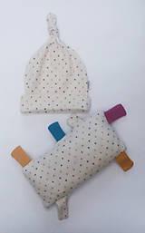 Detské čiapky - Čiapočka a vankúšik - 11395395_