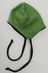 Detské čiapky - Čiapočka pre bábätko bambus/merino - 11396053_