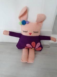 Hračky - Handmade zajacik - 11395125_