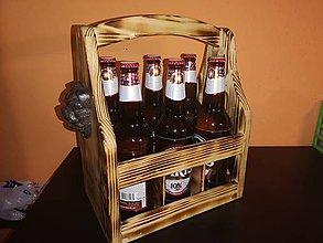 Dekorácie - Drevená bednička na pivo - 11396788_