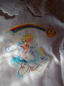 Detské oblečenie - krstná košieľka pre EMKU - 11397198_