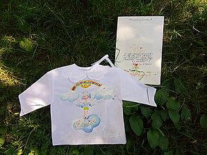 Detské oblečenie - krstná košieľka pre Dávidka - 11397202_