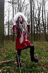 Kabáty - Kabát s ručnou maľbou - 11396989_