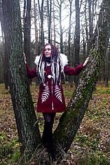 Kabáty - Kabát s ručnou maľbou - 11396990_