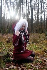 Kabáty - Kabát s ručnou maľbou - 11396992_