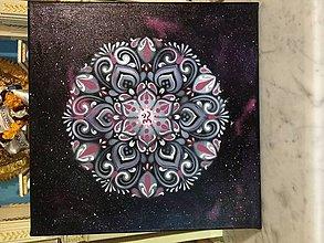 Obrazy - Mandala vesmírna om - 11400345_