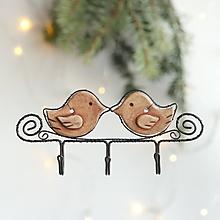 Detské doplnky - vešiak s vtáčikmi - 11398317_