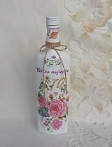 Nádoby - Narodeninová fľaša - 11401047_