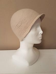Čiapky - Vlnený športový klobúčik - 11399709_