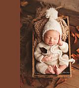 Detské čiapky - Brmbolatá - 11400601_
