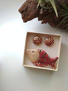 Sady šperkov - Keramická súprava - 11398830_