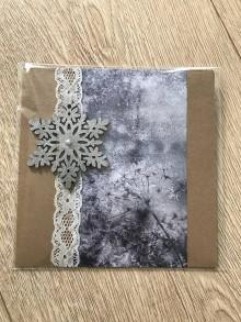 Drobnosti - Pohľadnica ľadová krása - 11399260_