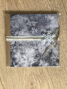 Drobnosti - Pohľadnica - mrazivá krása - 11400183_