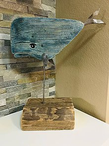 Socha - Moby Dick v modrom - 11400306_