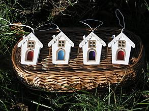 Drobnosti - Domček (Modrá) - 11401462_