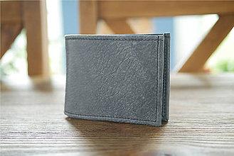 Peňaženky - Kožená peňaženka na doklady - Alex Klasik - 11400683_