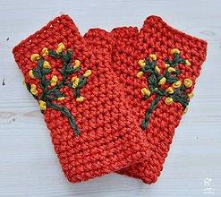 Rukavice - VIANOČNÁ CENA- rukavice-od 8-11 E - 11398574_