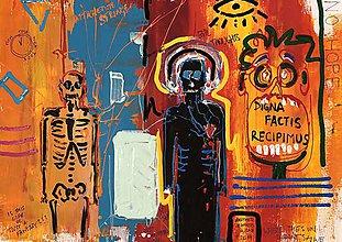 Obrazy - Obraz v style Basquiata - 11398335_