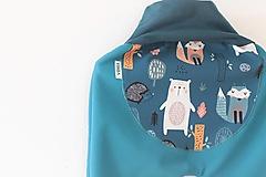"Detské oblečenie - Softshellky ""happy animals"" - 11398294_"