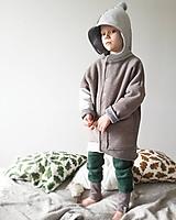 Detské oblečenie - Obojstranný kabátik LAPAJ - 11401670_