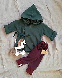 Detské oblečenie - Kabátik Juro Lesný - 11401504_