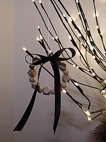 Dekorácie - Vianočné ozdoby *black&white - 11401318_