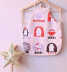 Textil - Vianočná zásterka - 11398291_