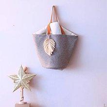 Veľké tašky - Taška-košík - 11398306_