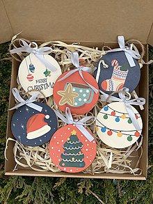 Dekorácie - Vianočné ozdoby z dreva - 11398001_