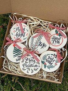 Dekorácie - Vianočné ozdoby z dreva - 11398003_