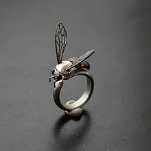 Prstene - Prsten včela - 11398697_