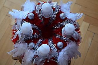 Dekorácie - Veniec  rozprávkové Vianoce - 11400787_