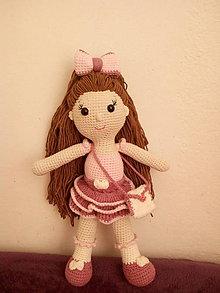 Hračky - Háčkovaná bábika - 11400909_