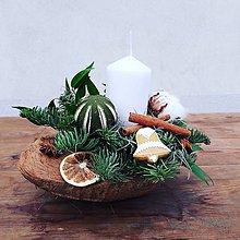 Dekorácie - Kokosový vianočný orech - 11400174_