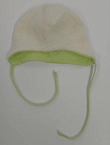 Detské čiapky - Čiapočka pre bábätko organická bavlna baránok - 11398711_
