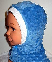 Detské čiapky - kukla do chladného počasia zľava 20% - 11401396_