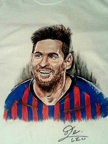 Detské oblečenie - Lionel Messi na tričku - 11401058_