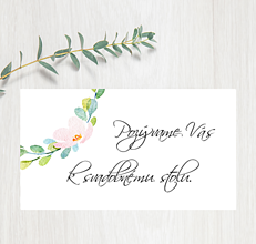 Papiernictvo - Pozvanie ku stolu P61 - 11401534_
