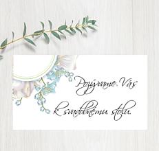 Papiernictvo - Pozvanie ku stolu P62 - 11401544_