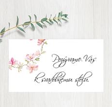 Papiernictvo - Pozvanie ku stolu P64 - 11401557_