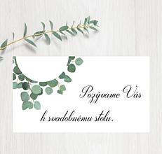 Papiernictvo - Pozvanie ku stolu P66 - 11401571_