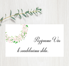 Papiernictvo - Pozvanie ku stolu P67 - 11401581_